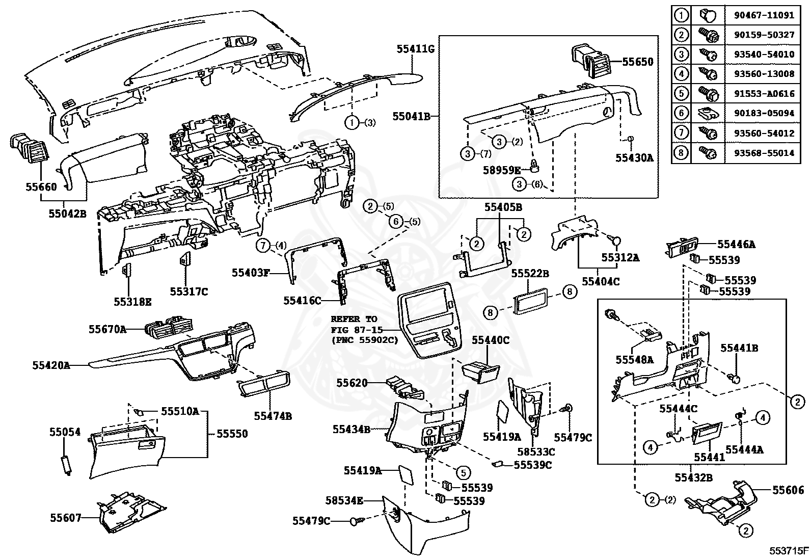 Wiring Diagram 1994 Toyota Pickup Water Pump Toyota Previa 1986 Toyota