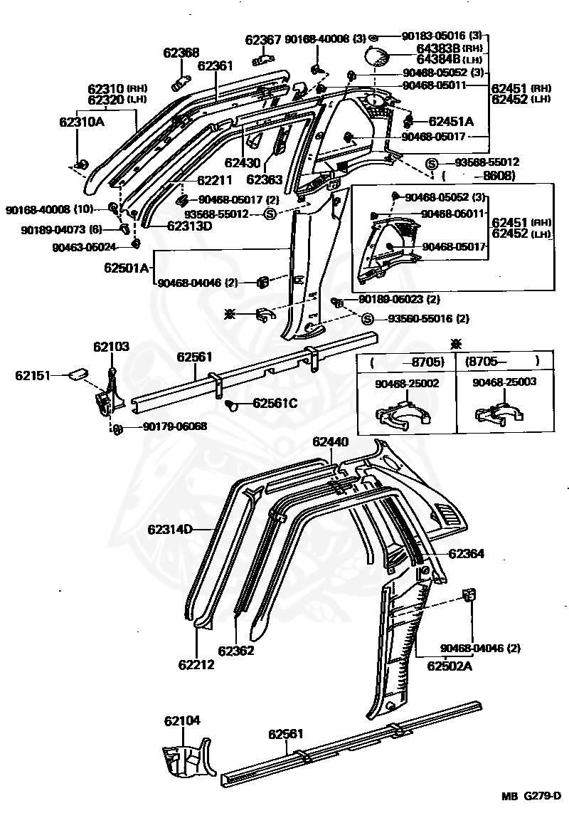 90468-25003 - Toyota - Clip - Nengun Performance