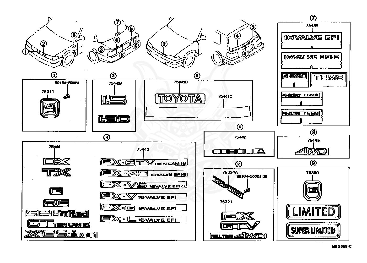 Diagram  2005 Toyota Corolla Engine Diagram Distributor