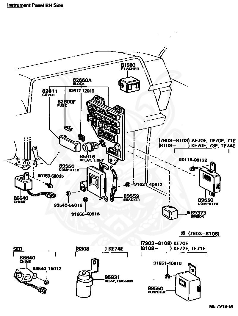 Ae82 Corolla Wiring Diagram
