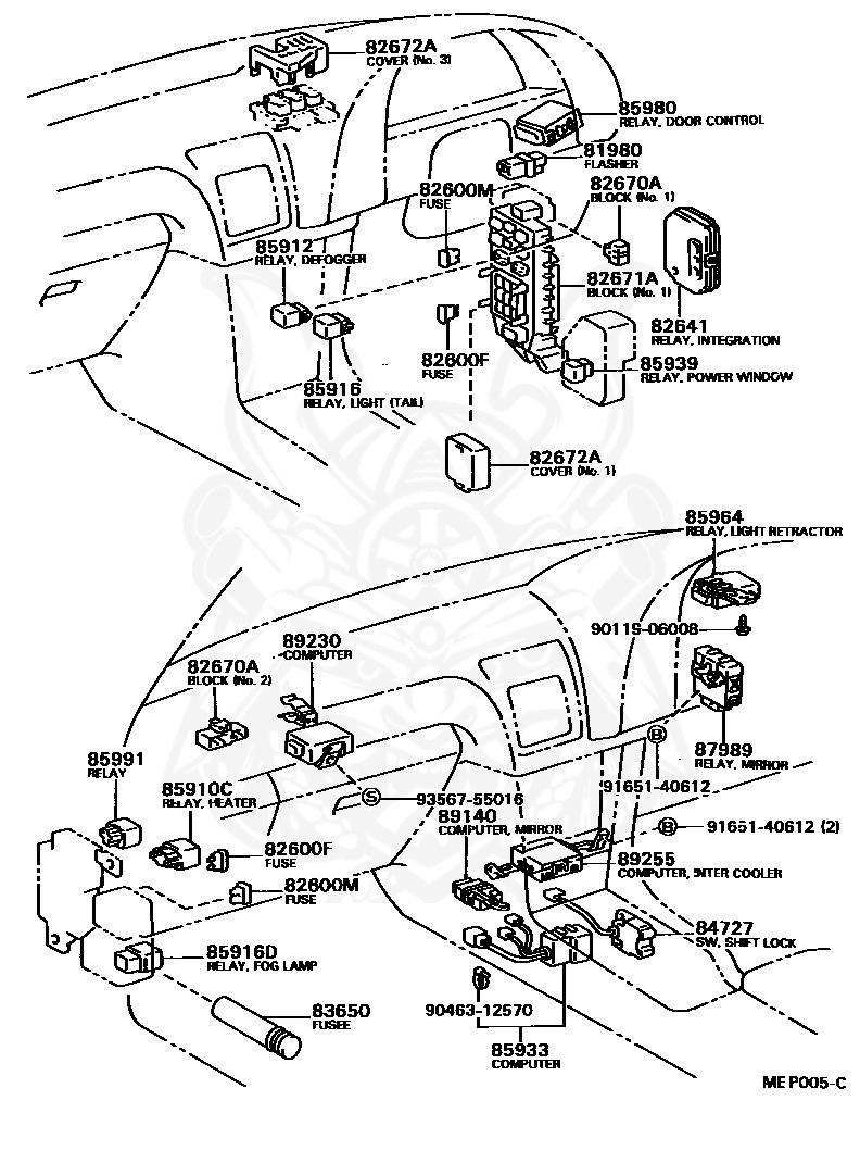 1990 Toyotum Celica Gt Fuse Box