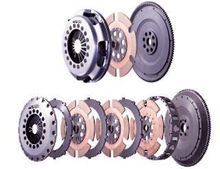 ATS Metal Clutch - Single/Twin/Triple