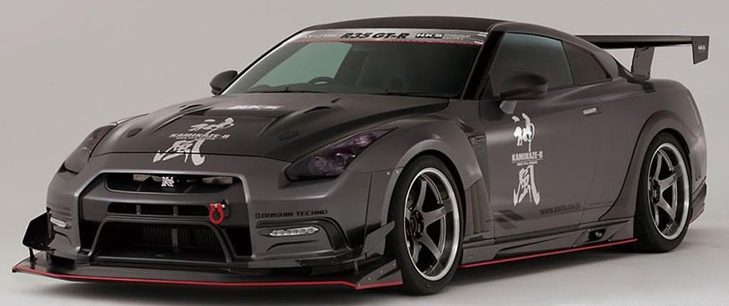 Varis R35 GTR GT-Wing Euro (Centre Mount)