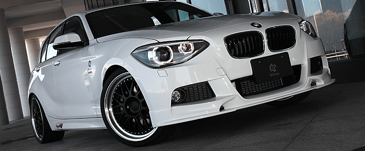 3D Design - F20 M-Sport Aero Parts
