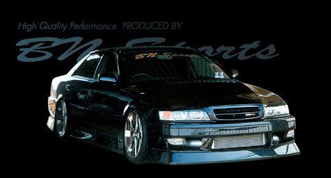 BN Sports JZX100 Chaser FRP Vented Bonnet Type 2
