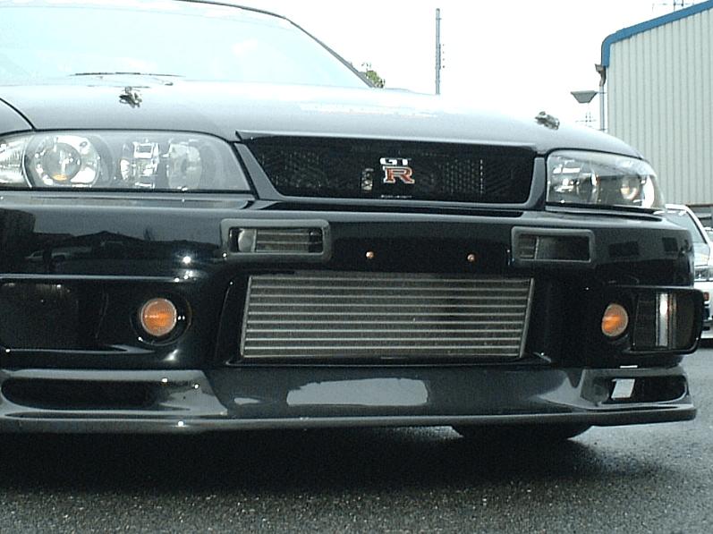Car Shop F1 - R33 Style Front Bumper Air Duct