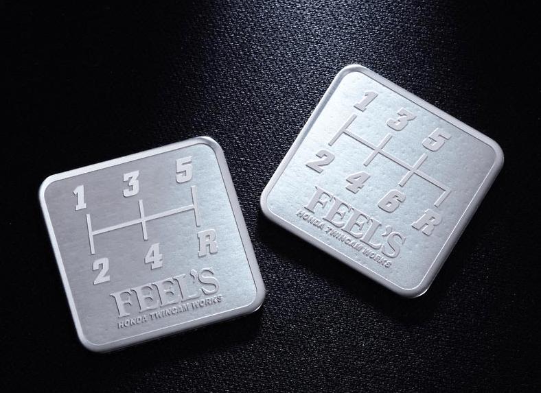 FEEL'S - Shift Pattern Plate