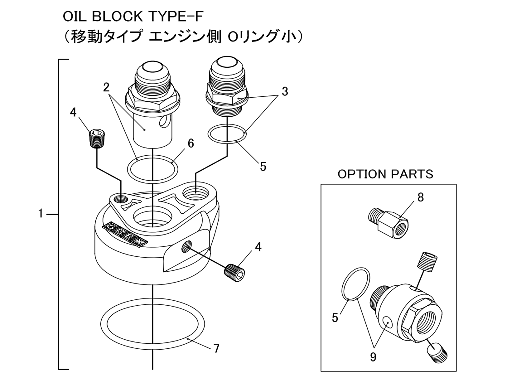 Oil Block Type-F
