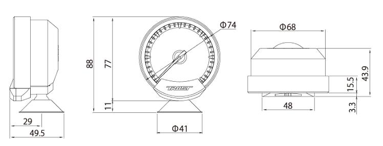 Meter Dimensions