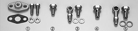 HKS - Oil Inlet Parts