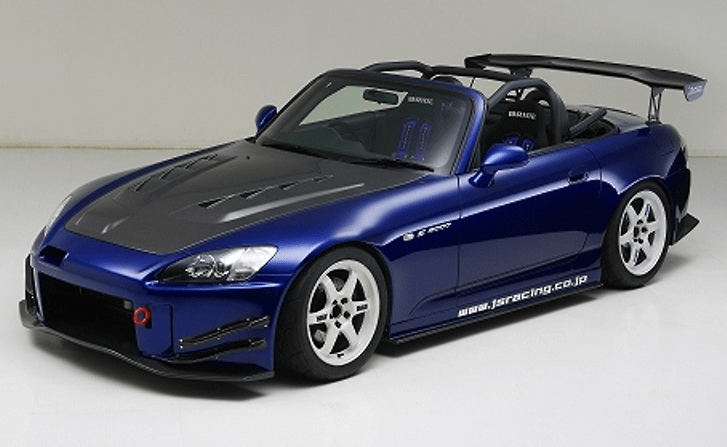 J's Racing - S2000 Total Aero System Type-S 2.0