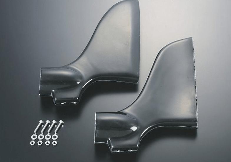J's Racing - S2000 Type-S Bumper Brake Duct Set