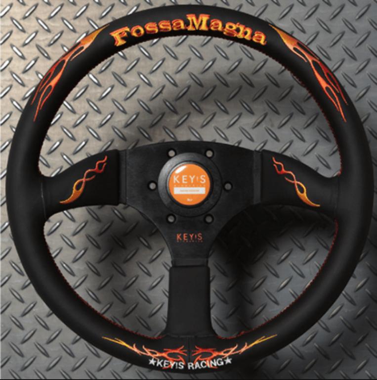 KEY'S Racing - Fossa Magna - Drift Type - Steering Wheel