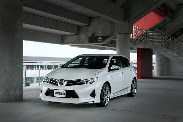 Modellista offer the very stylish Aero Parts - Toyota Auris NZE181 Zenki