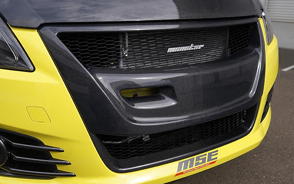 Monster Carbon Front Grill for ZC32S