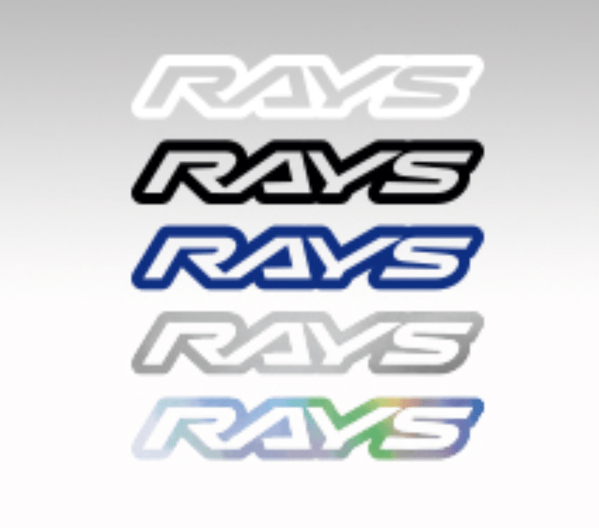 RAYS - Logo Sticker