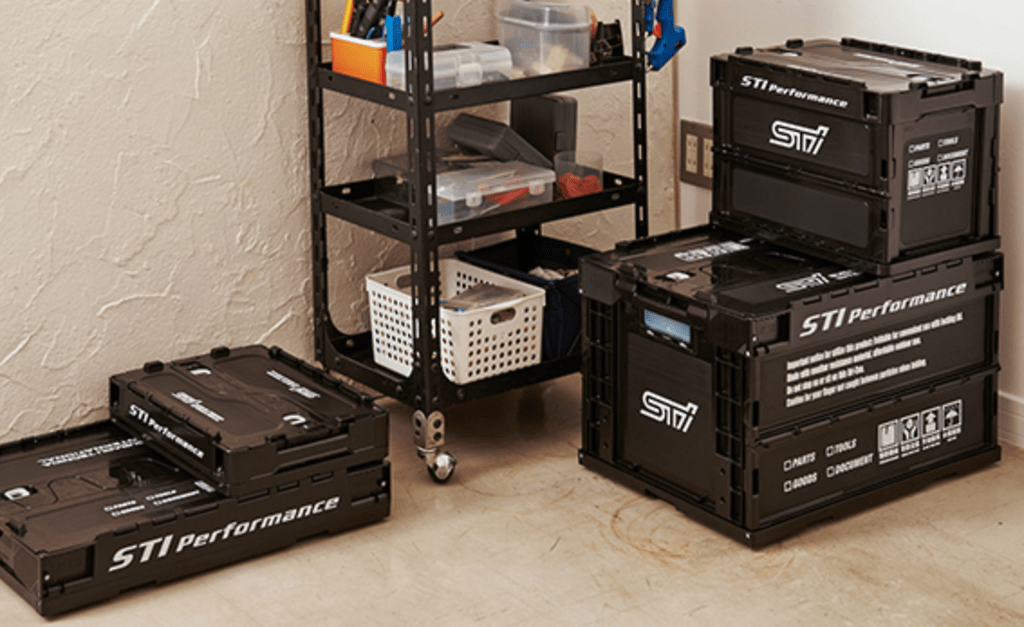 STI - Folding Container - Black