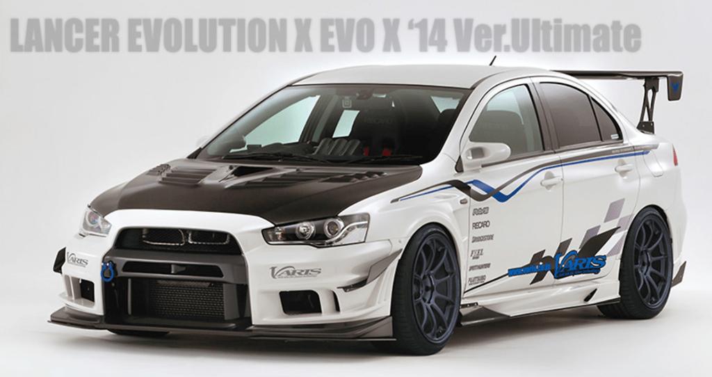 VARIS Mitsubishi EVO X '14 Ver.ULTIMATE