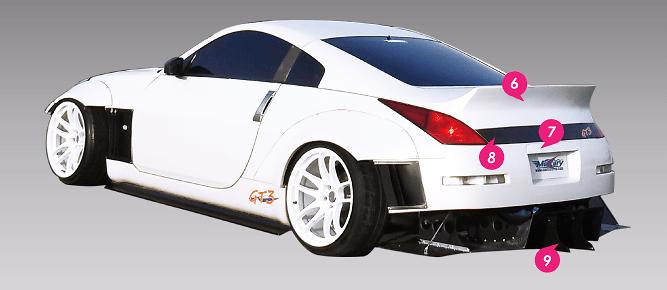 Z-Project 350Z GT3 Aero Kit