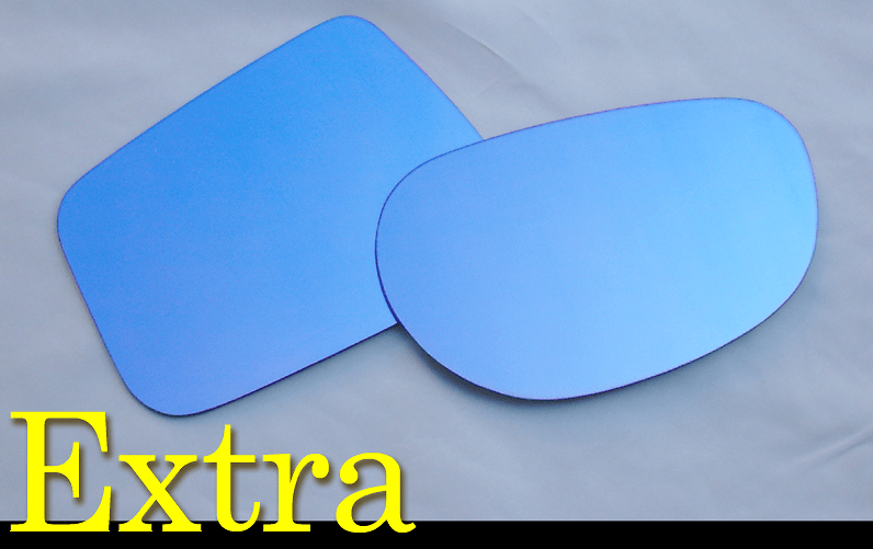 ZOOM Engineering - Extra Blue Wide Mirrors