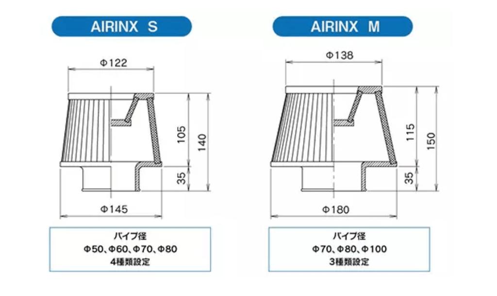 Greddy - Airinx - Universal