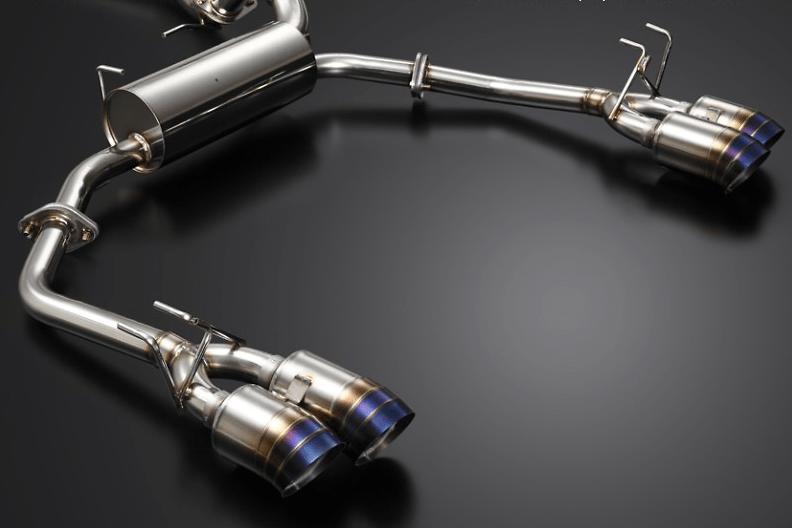 J's Racing - Premium Semi Titanium Dual 70RS