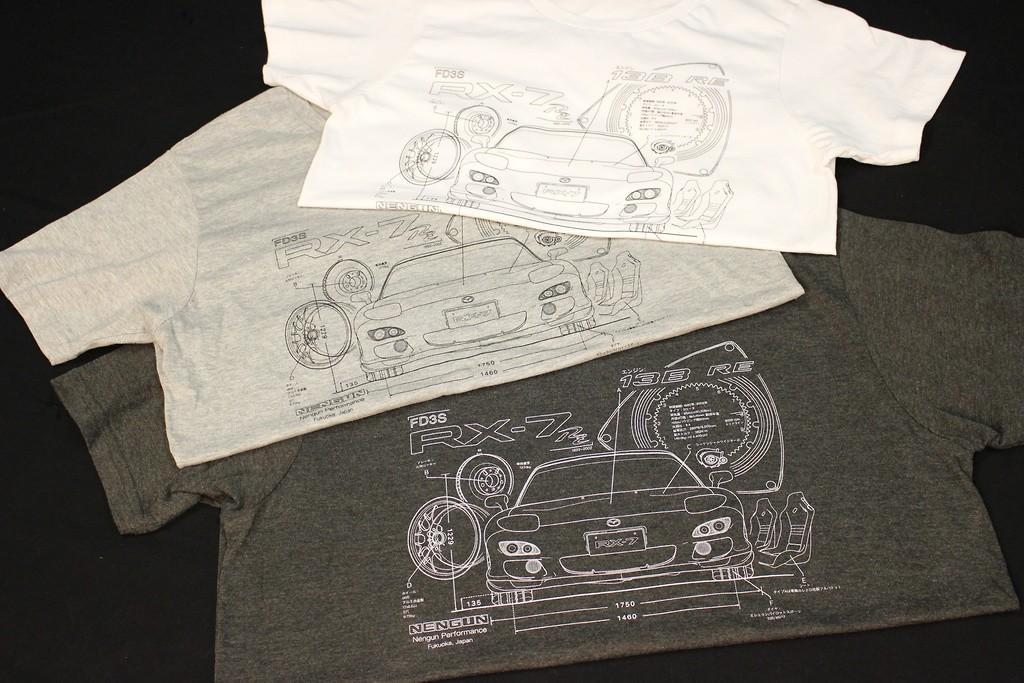 Nengun - Mazda RX7 Edoichi Collab Tee