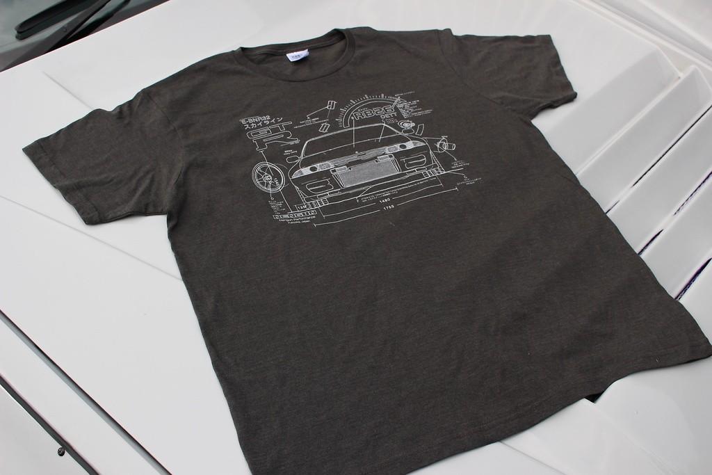 Nengun - Skyline GTR R32 Edoichi Collab Tee
