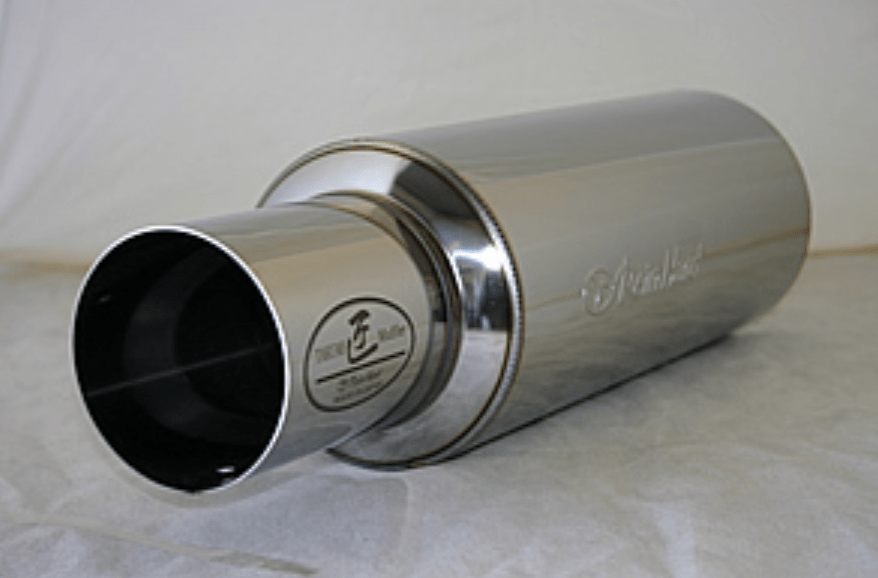 Rein Hard - Cannonball Single Muffler