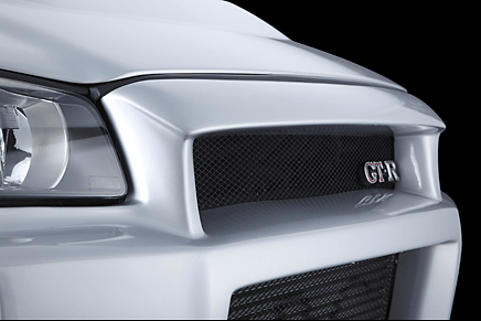 MCR Front Bumper for R34