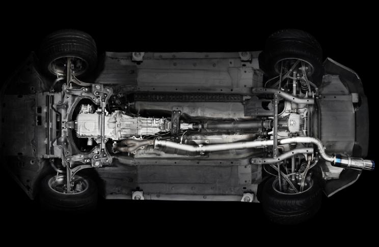 RSE Full Titan Muffler Honda S2000 AP1 / AP2
