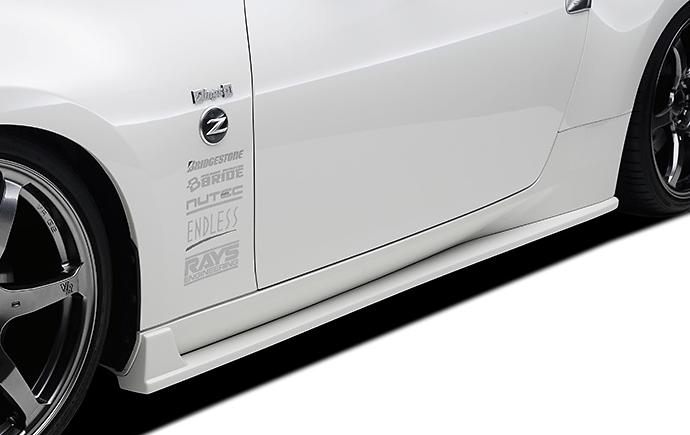 ings Fairlady Z Z34 Side Steps