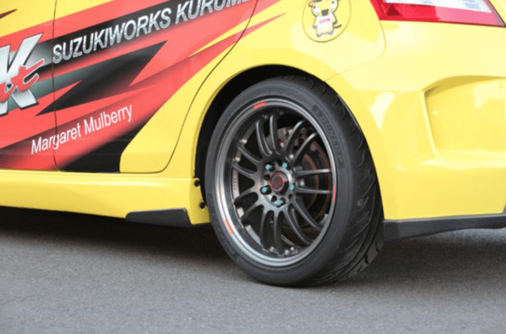 Suzuki Works Kurume - Side Canard