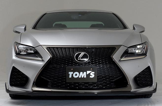 TOM'S - Lexus RC-F Aero Parts
