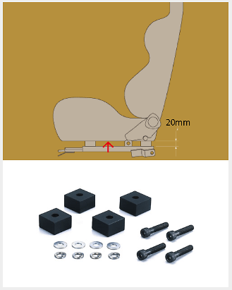 Bride High Position Adapters
