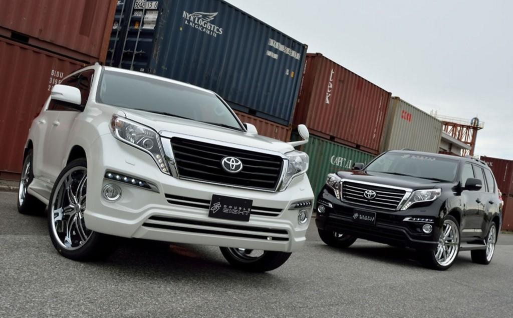 Toyota Land Cruiser Prado >> Double Eight Land Cruiser Prado 150