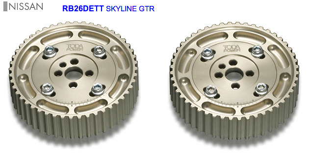 TODA - Adjustable Cam Pulleys - RB26DETT