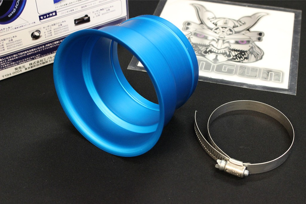 Blue - Circular Diameter 100mm - BSD100-FN001