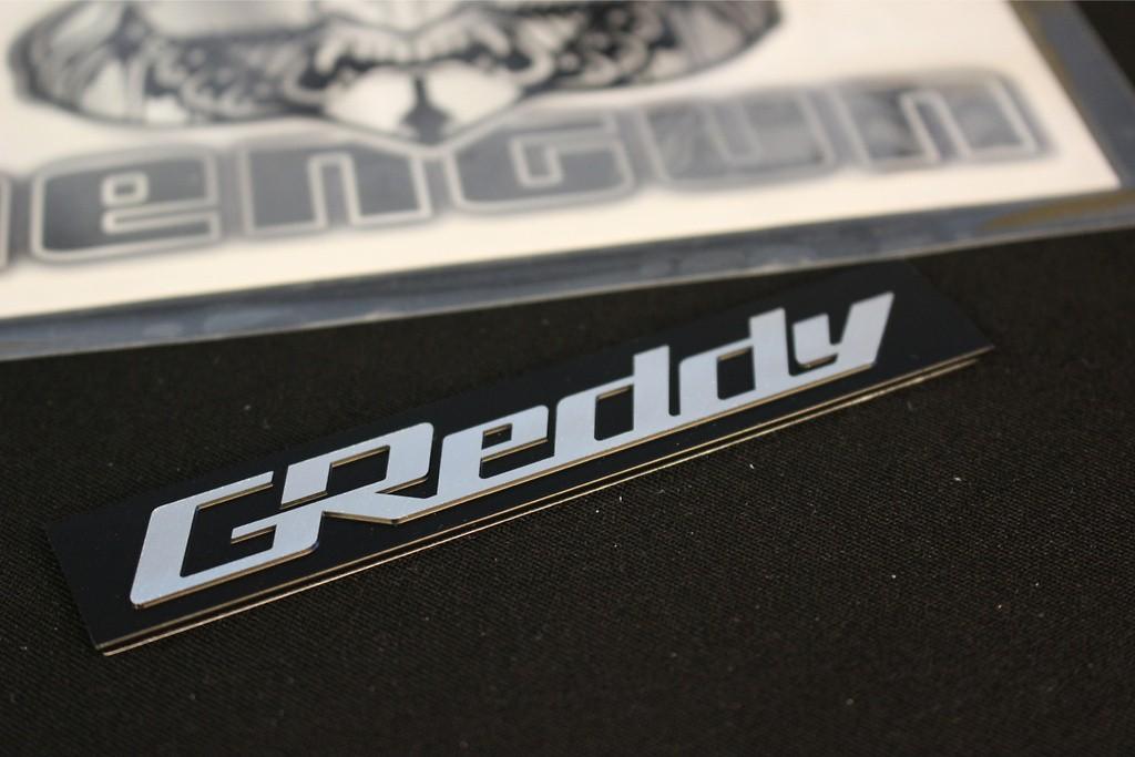 Greddy Emblem for Intake Plenum - 18000202