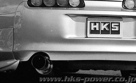 HKS - High Power Exhaust - Silent
