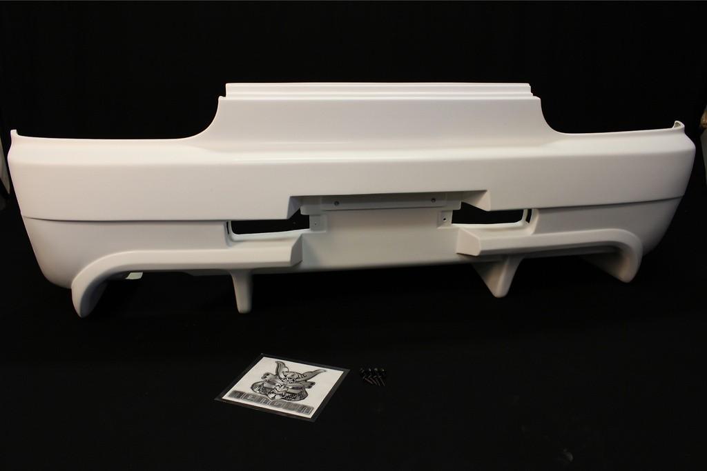 Rear Bumper - Construction: FRP - Colour: Unpainted - BNR32-RB
