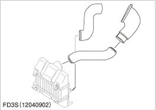 Mazda - RX7 FD3S - 13B-REW 96.1-02.8 (Suitable for factory I/C series 4 to 6 only) - 12040902