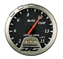 Racing Meter - DC II - Temperature - Carbon