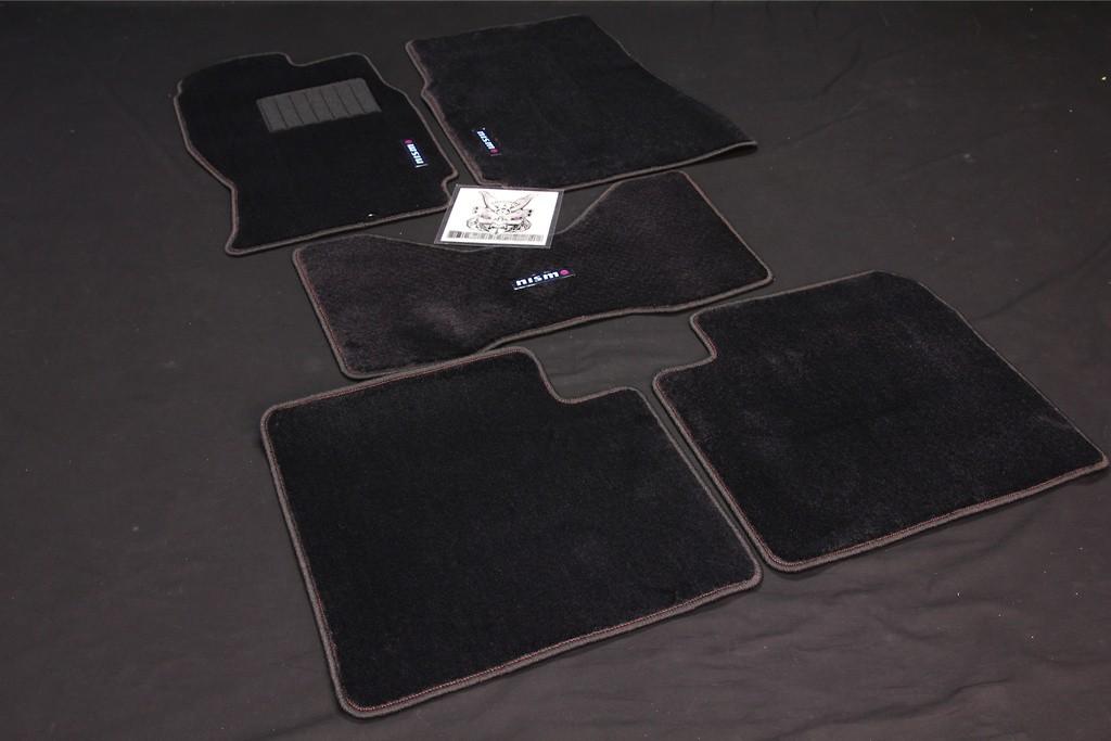 Color: Black - Quantity: 5 Mat Set - 74902-RNR35