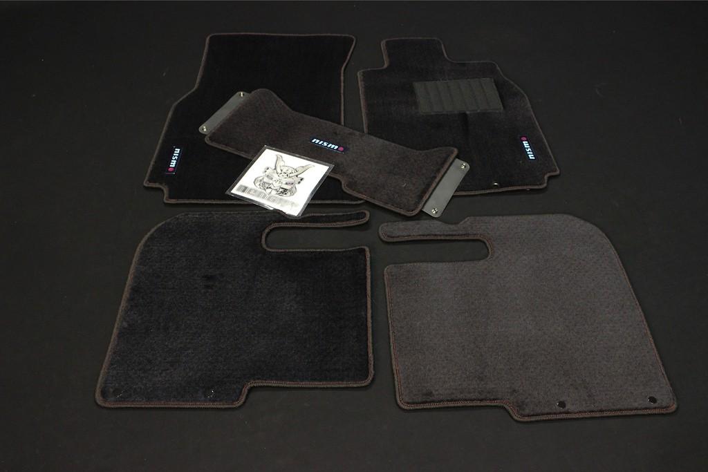 Color: Black - Quantity: 5 Mat Set - 74902-RNV50