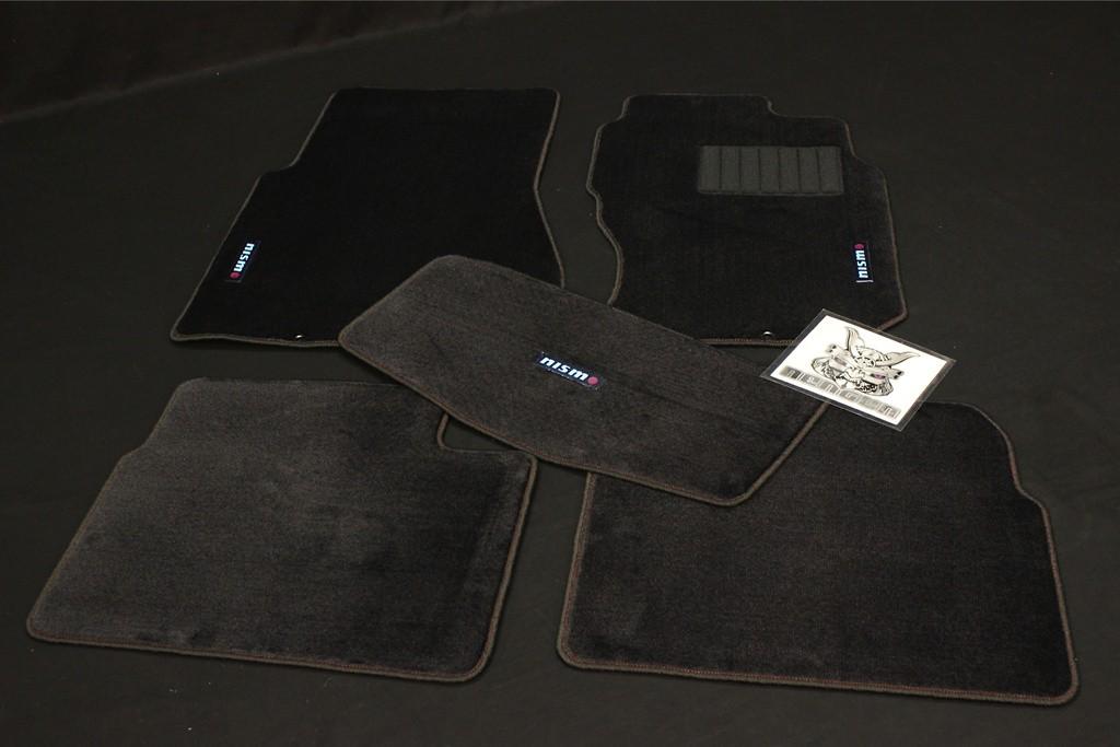 Color: Black - Quantity: 5 Mat Set - 74902-RNR25