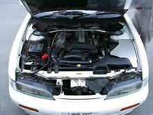 Apexi - Aluminum Induction Box - Nissan - Silvia - S14