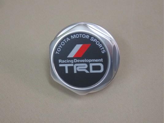 TRD - Oil Filler Cap - Silver