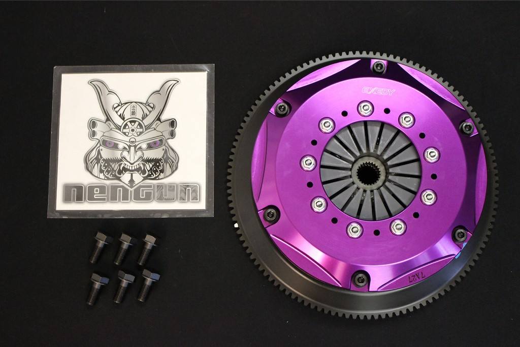Nissan BNR32 RB26DETT Early 8/89- 2/93 Twin Plate Clutch (Flywheel Included) Push - NM032SD