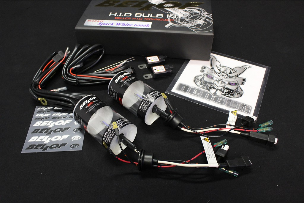 AMC401 HID Bulb kit H1 Spark White  6000K